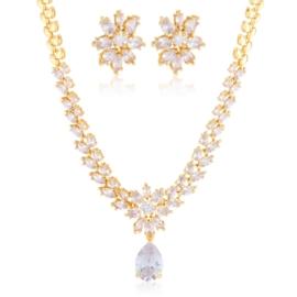 Komplet biżuterii ślubnej Xuping - SKO116