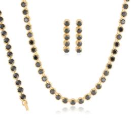 Komplet biżuterii ślubnej Xuping - SKO118