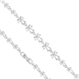 Bransoletka codzienna z kryształkami Xuping BP8677