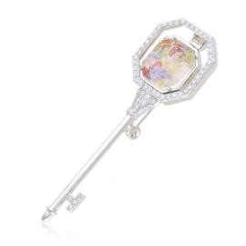Broszka z kryształkami - Xuping BR62