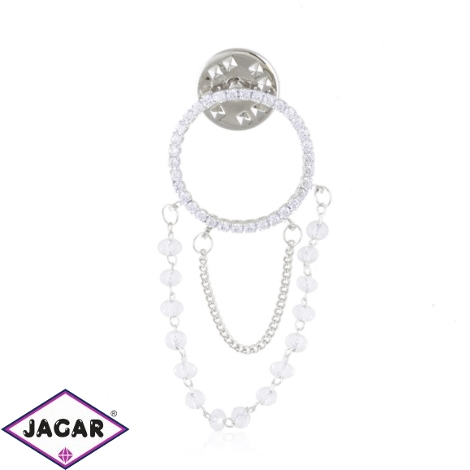 Broszka przypinka z kryształkami - Xuping BR63