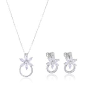 Komplet biżuterii stalowej Lisha PK589