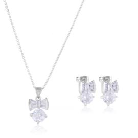 Komplet biżuterii stalowej Lisha PK590