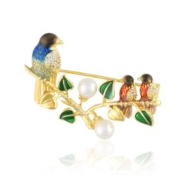 Broszka ptaki - Xuping BR68