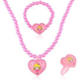 Komplet biżuterii dziecięcej - KOM492