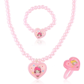 Komplet biżuterii dziecięcej - KOM493