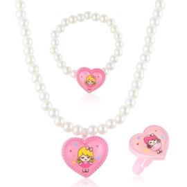 Komplet biżuterii dziecięcej - KOM494