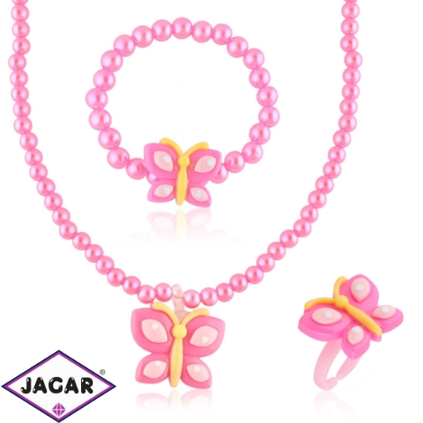 Komplet biżuterii dziecięcej - KOM495
