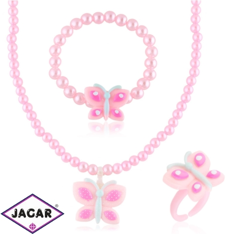 Komplet biżuterii dziecięcej - KOM496