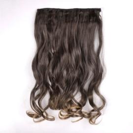 Sztuczne włosy clip in - 1T18T brąz - IN51