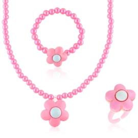 Komplet biżuterii dziecięcej - KOM498