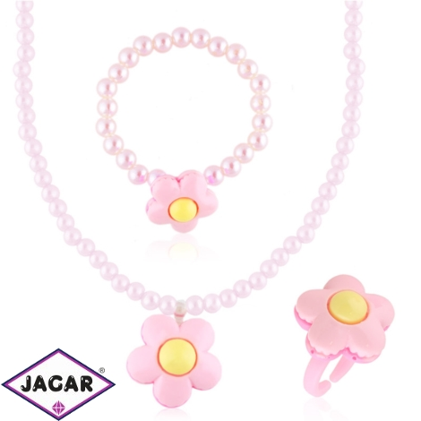 Komplet biżuterii dziecięcej - KOM499