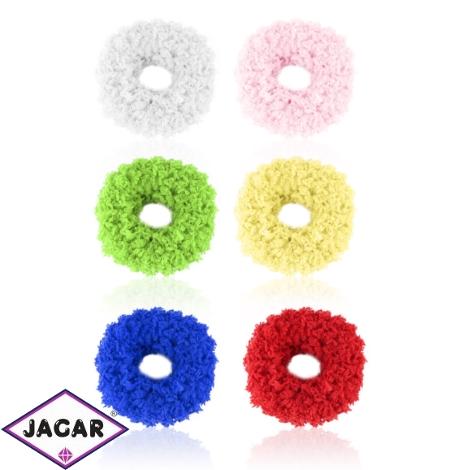 Gumki puchate mix kolorów 12szt OG1315