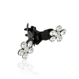 Spinki żabki z kwiatkami 12szt OS1191