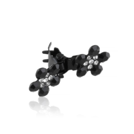 Spinki żabki z kwiatkami 12szt OS1195