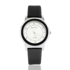 Zegarek damski na pasku czarny Z2548