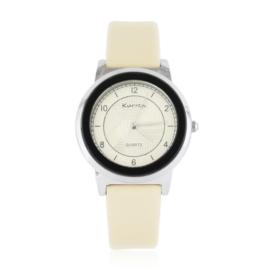 Zegarek damski na pasku kremowy Z2551