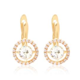 Kolczyki z kryształami Xuping EAP17490