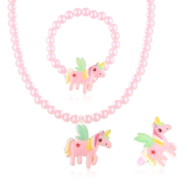 Komplet biżuterii dziecięcej - KOM501