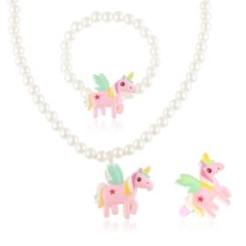 Komplet biżuterii dziecięcej - KOM504