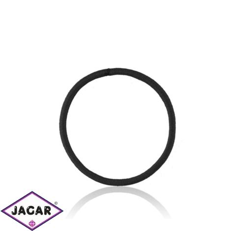 Gumka do włosów - czarna 50szt/op - OG1330