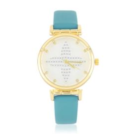 Zegarek damski na pasku - niebieski - Z2622