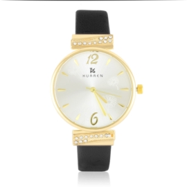 Zegarek damski na pasku - black - Z2624