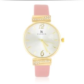 Zegarek damski na pasku - pink - Z2629