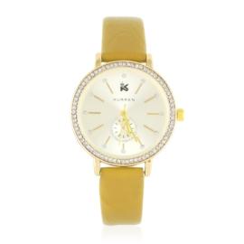 Zegarek damski na pasku z kryształkami - Z2636