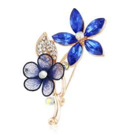Broszka kwiatek - BR783