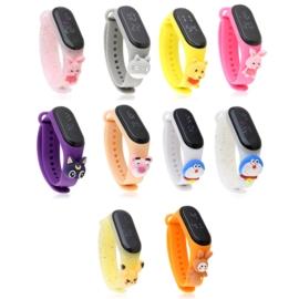 Zegarki LED silikonowe - 24szt mix wzorów - Z2637