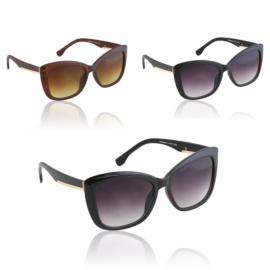 Okulary Paparazzi cat eye - V3038 - 12szt/op