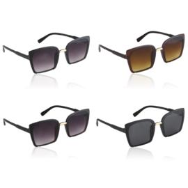 Okulary Paparazzi kwadratowe - V3043 - 12szt/op