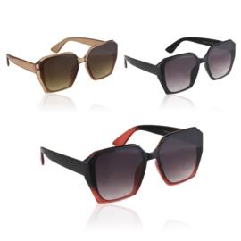Okulary Paparazzi geometric - V3057 - 12szt/op