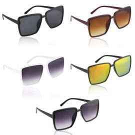Okulary Paparazzi kwadratowe - V3058 - 12szt/op