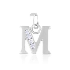 Przywieszka rodowana Xuping - litera M - PRZ1491