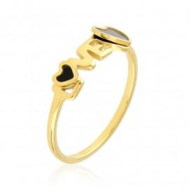 Pierścionek stalowy LOVE Xuping PP3303
