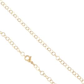 Łańcuszek z kółeczek 45cm Xuping LAP2636