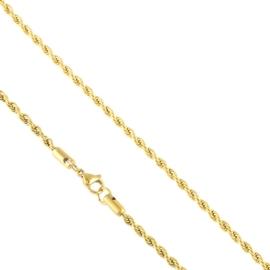Łańcuszek stal kordel 45cm Xuping LAP2651