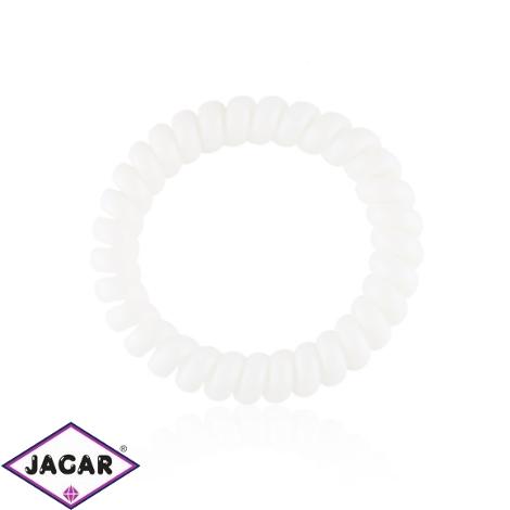 Gumki sprężynki białe 25szt - OG1339