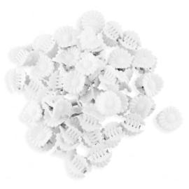 Żabki białe kwiatuszki - ZW193