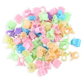 Żabki plastikowe mix kolorów 2cm - ZW199