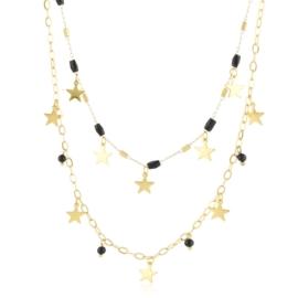 Celebrytka stalowa z gwiazdkami Moonriver CP6460