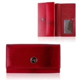 Portfel damski skórzany H22-1-RS Red P1489