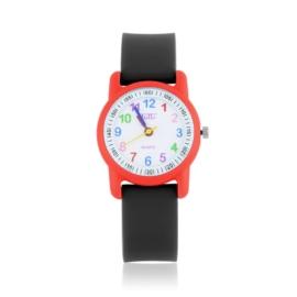 Zegarek dziecięcy silikonowy czarny Z2660