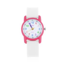 Zegarek dziecięcy silikonowy biały Z2661