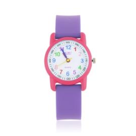 Zegarek dziecięcy silikonowy fioletowy Z2665