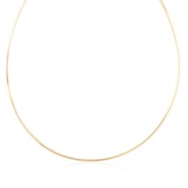 Łańcuszek linka sztywna 40cm Xuping LAP2663