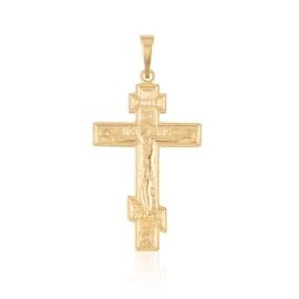 Przywieszka krzyżyk prawosławny Xuping PRZ3011