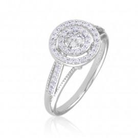Pierścionek codzienny z kryształkami Xuping PP3344